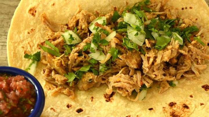 Dee's Roast Pork for Tacos