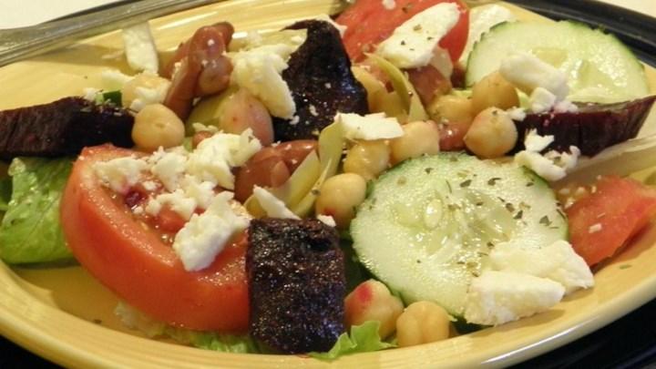 Lettuce-Free Salad