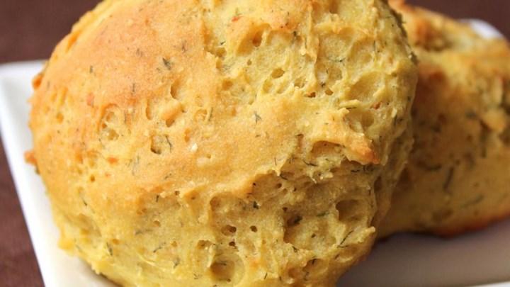 Gluten Free Garlic Dill Dinner Rolls