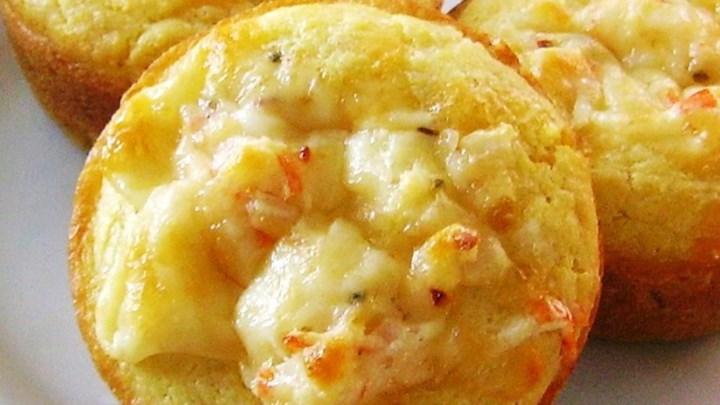 Crab-Stuffed Corn Muffins