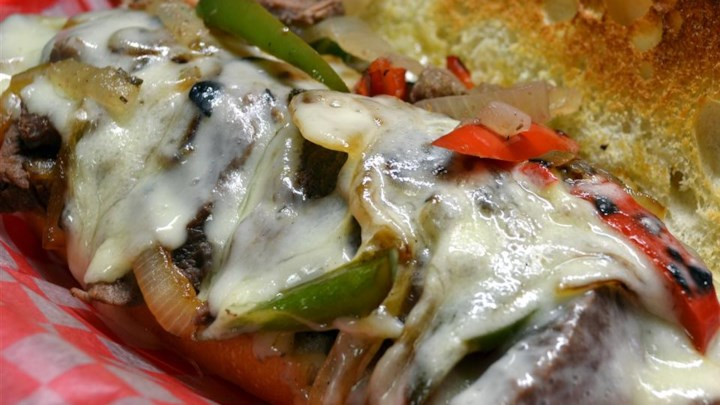 Slow Cooker Philly Steak Sandwich Meat