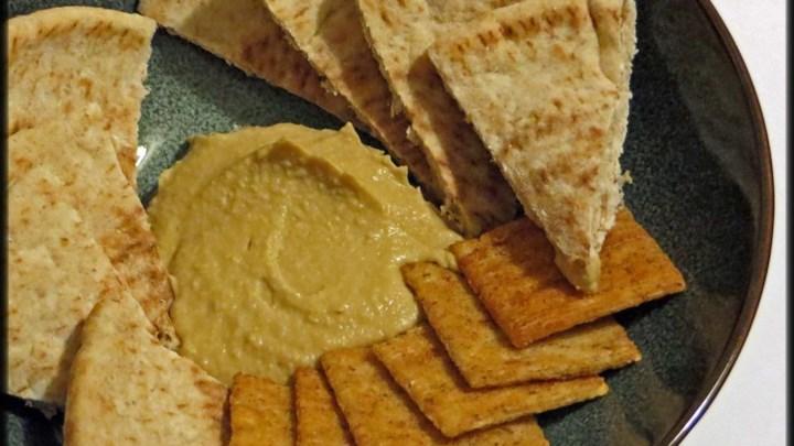 Wasabi and Soy Sauce Hummus