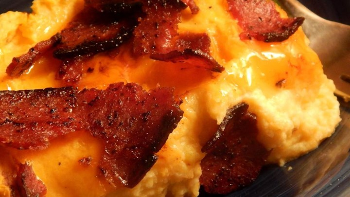 Erik's Cheesy Cauliflower Casserole