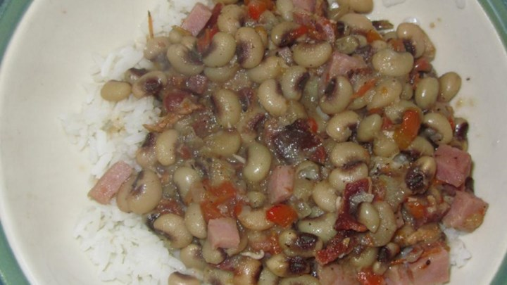 Southern-Style Crowder Peas
