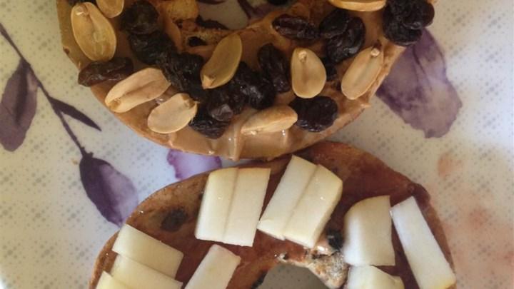 Fruity Peanut Butter Sandwich