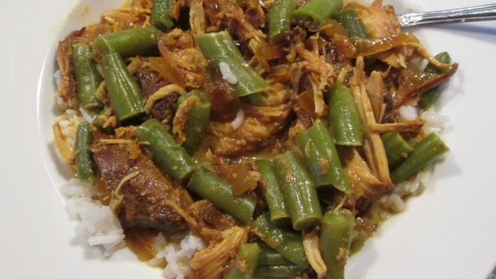 Slow Cooker Marmalade Curry Chicken