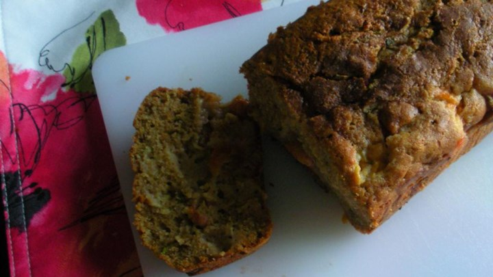 Zucchini Plum Bread