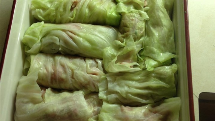 Super Easy Polish Cabbage Rolls