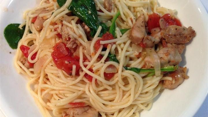 Spaghettini Chicken