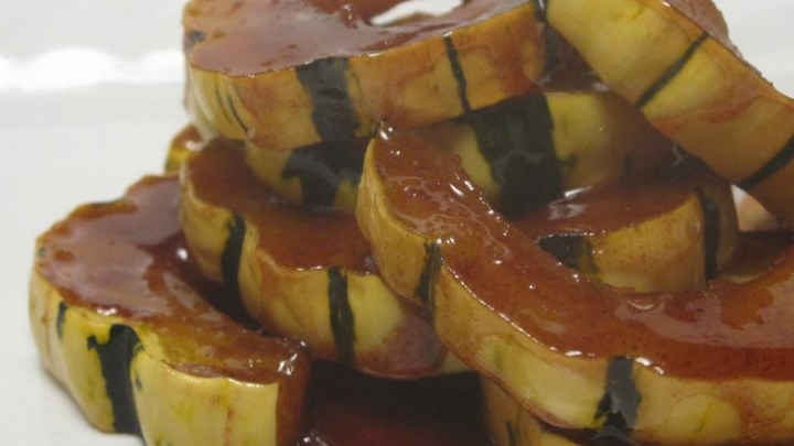 Sweet Baked Delicata Squash