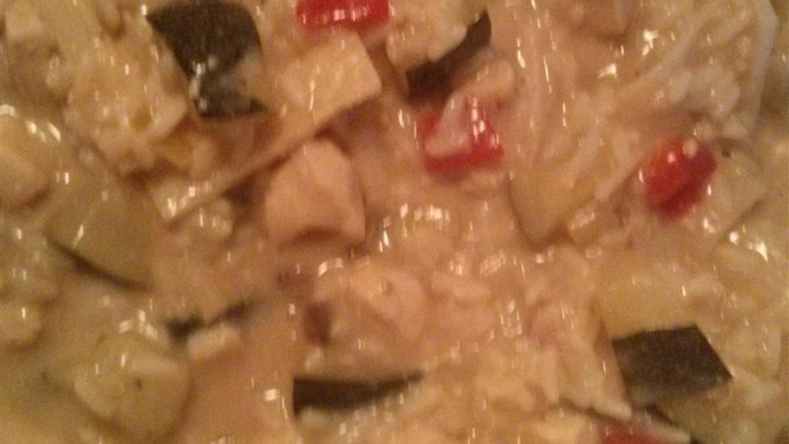 Chicken Zucchini Rice Casserole