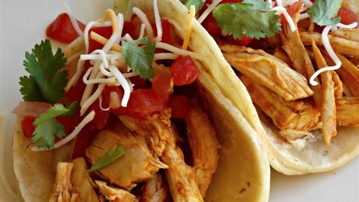 Steve's Roasted Chicken Soft Tacos