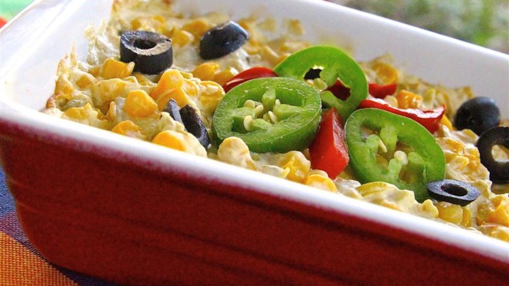 Spicy and Cheesy Creamed Corn