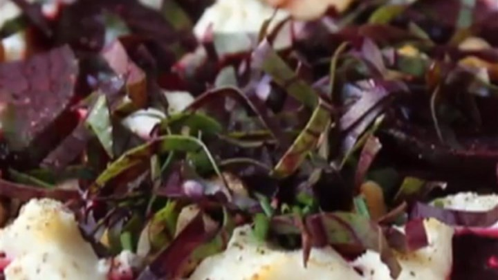 Roasted Beets with Goat Cheese and Walnuts Recipe - Allrecipes.com