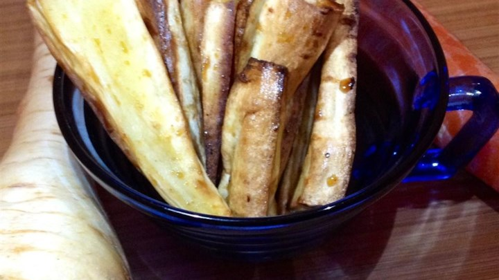 Glazed Parsnips