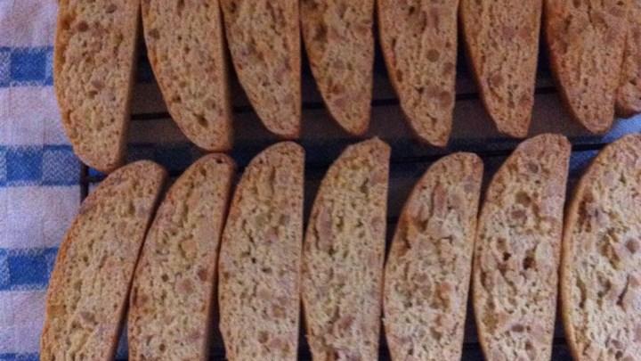 Crunchy Almond Biscotti