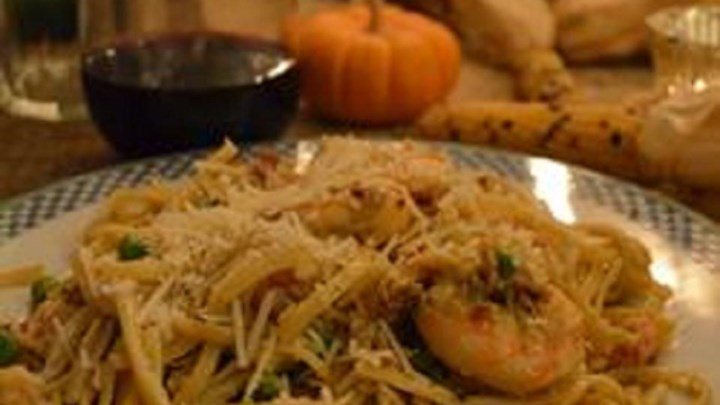 Amazing Shrimp and Langostino Lobster Linguine