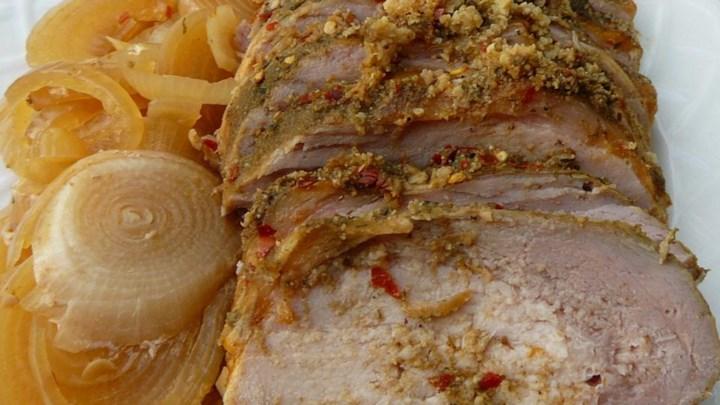 Havana Slow Cooker Pork Tenderloin
