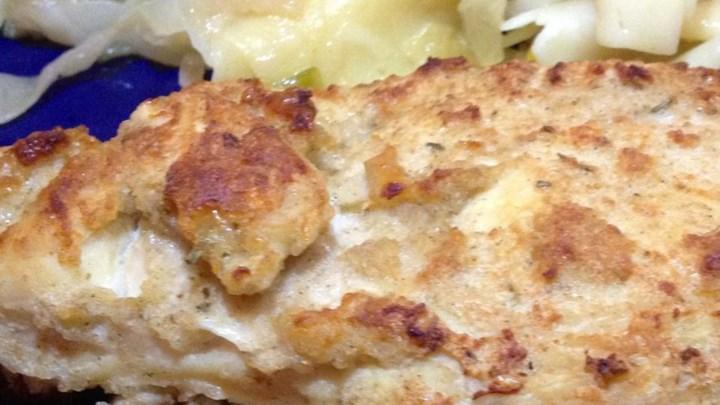 Greek Yogurt Parmesan Chicken