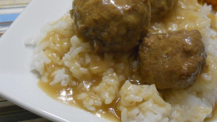 Mum's Swedish Meatballs