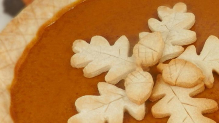 Homemade Fresh Pumpkin Pie