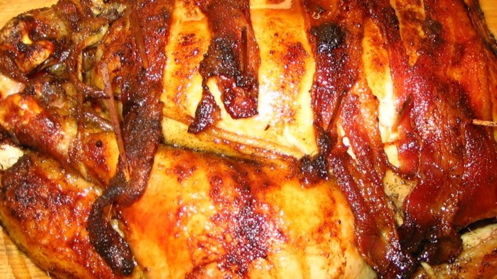 Bacon Roasted Chicken