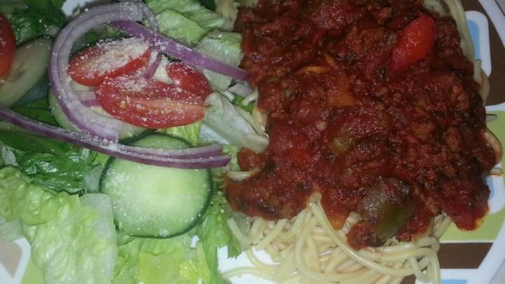 Mom's Sweet Spaghetti Sauce