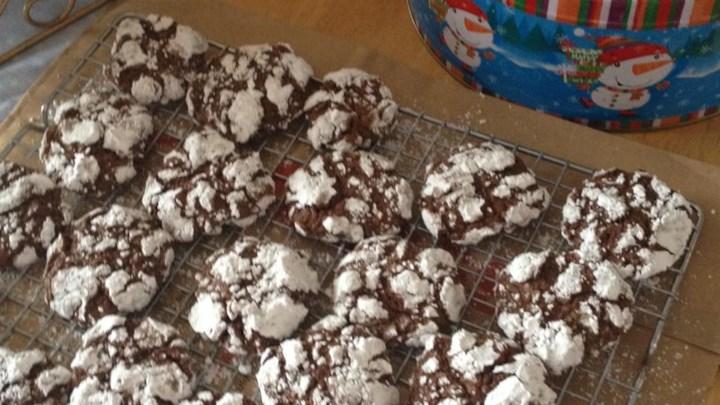 Chocolate Crinkles IV