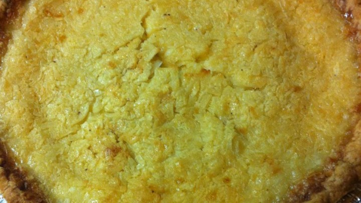 Coconut Custard Pie IV