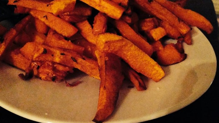 Charlotte's Butternut Squash Fries