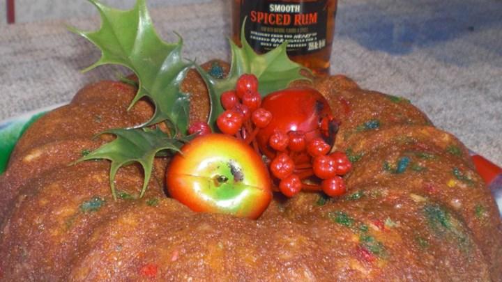 Simple Christmas Rum Cake