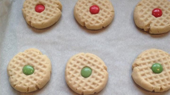 Maple Shortbread Cookies