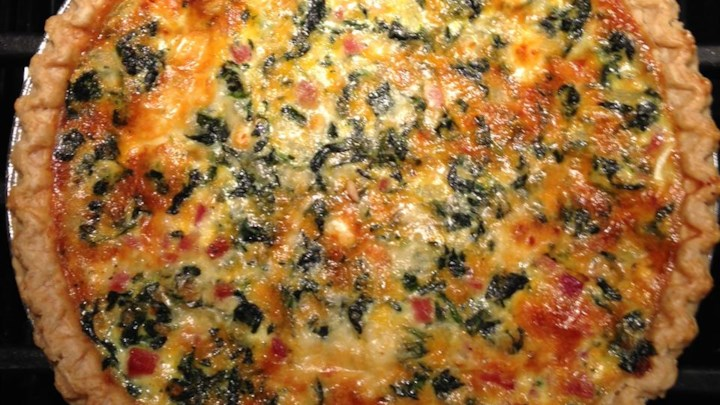 Transformed Spinach Mushroom Quiche Recipe - Allrecipes.com