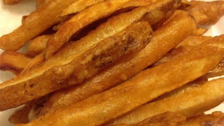 Homemade Crispy Seasoned French Fries Recipe - Allrecipes.com