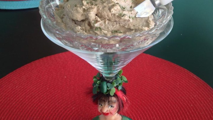 Chicken Liver and Pistachio Nut Pate
