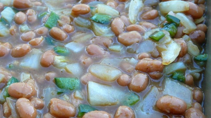 Asian Style Spicy Baked Beans
