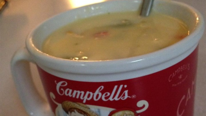 Creamy Vegetable Cheese Soup
