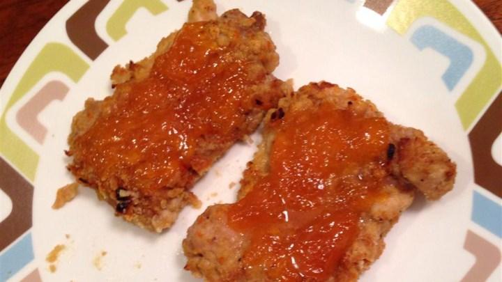 Orange Cracker Apricot Chicken