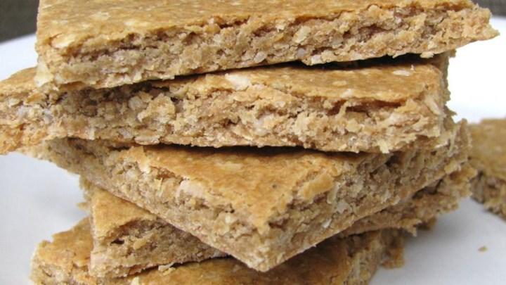 Peanut Butter Banana Protein Bars Recipe - Allrecipes.com