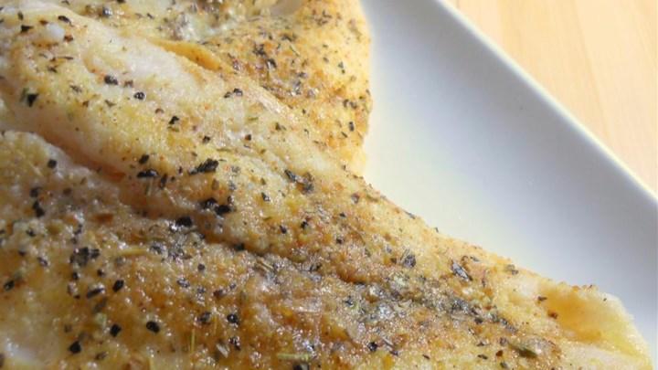 Grilled Lemon Pepper Catfish