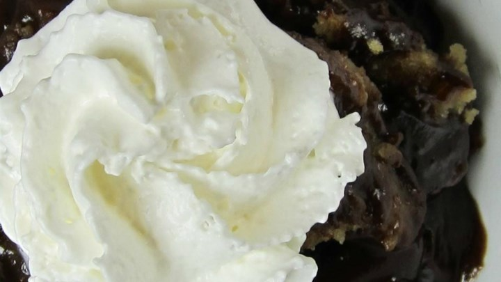 Microwave Hot Fudge Peanut Butter Pudding