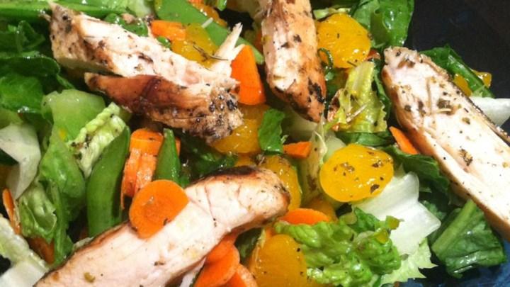 Grilled Orange Vinaigrette Chicken Salad Recipe - Allrecipes.com