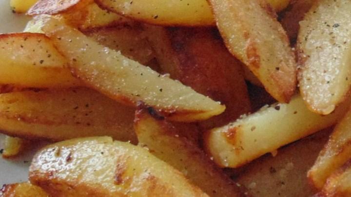 Salt and Pepper Skillet Fries
