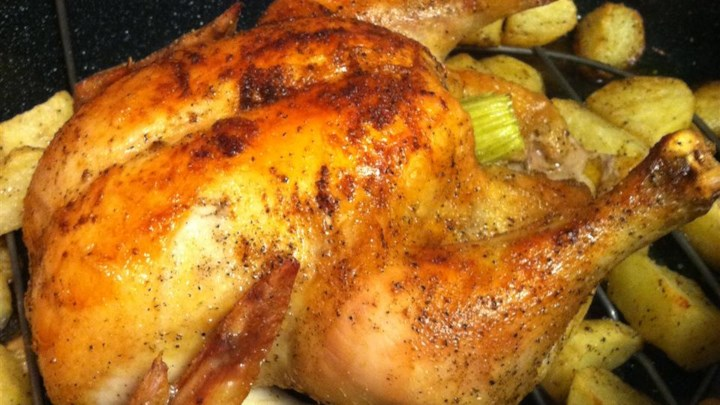 Juicy Roasted Chicken