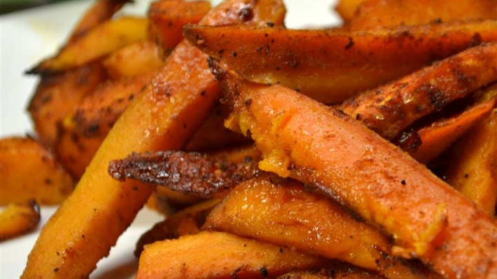 Jan's Chipotle Roasted Sweet Potatoes