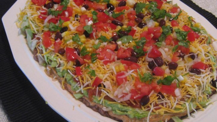 Skinny Layered Pizza Dip Recipes — Dishmaps