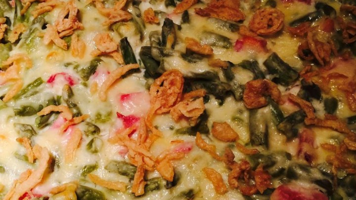 Swiss Cheese Green Bean Casserole