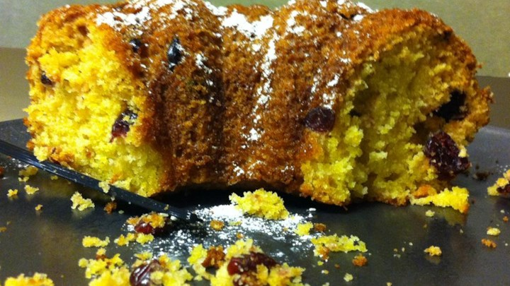 Grandma's Cranberry Orange Cake