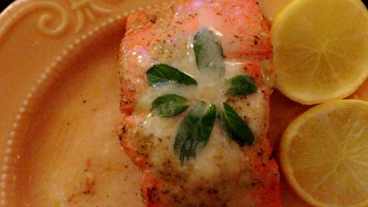 Minted Salmon