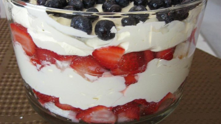 Super Strawberry Trifle